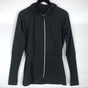 LULULEMON Black Hoodie Pleated Jacket 6